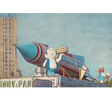 Astroland Park Retro Photographic Print