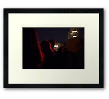 Dawn Service - Anzac Day Framed Print