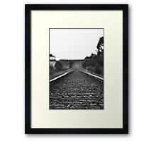 Your Waiting For A Train... Framed Print