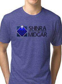 SHINRA ELECTRIC POWER COMPANY MAKO ENERGY MIDGAR Tri-blend T-Shirt