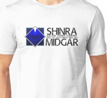 SHINRA ELECTRIC POWER COMPANY MAKO ENERGY MIDGAR Unisex T-Shirt