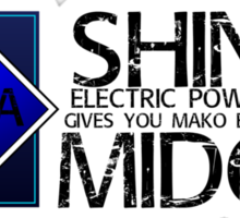 SHINRA ELECTRIC POWER COMPANY MAKO ENERGY MIDGAR Sticker