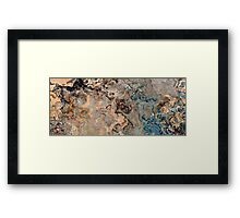 Fragment of Charming Reality Framed Print