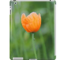 Orange Poppy #1 iPad Case/Skin
