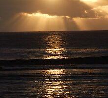 Pacific Island Sunset by Jennifer Mosher