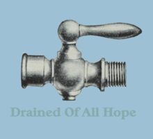 Drained Of All Hope Kids Tee