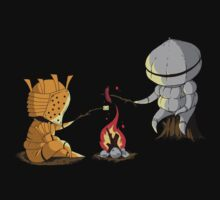 Bonfire Buddies by PengewApparel