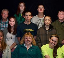 Our youth group by Penny Rinker