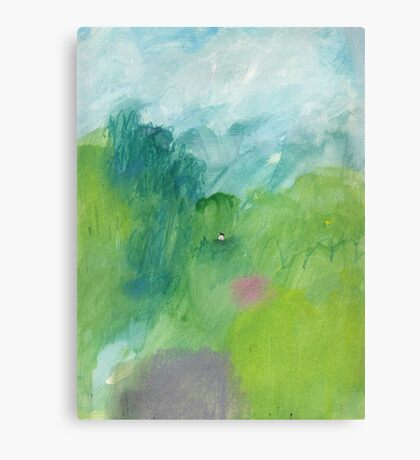 After the rainstorm  Canvas Print