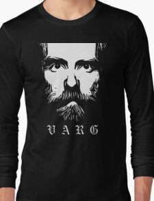 VARG - SOLID WHITE Long Sleeve T-Shirt