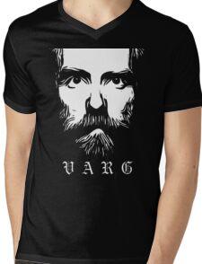 VARG - SOLID WHITE Mens V-Neck T-Shirt