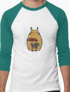 Totorochu Men's Baseball ¾ T-Shirt