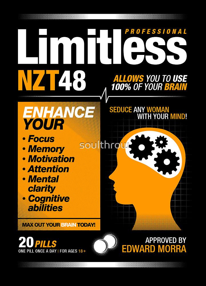 Limitless Pills - NZT 48 (Original Version) by soulthrow