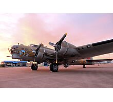 A Flying Fortress Photographic Print