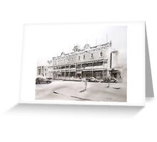 Albion Hotel, Forbes Greeting Card
