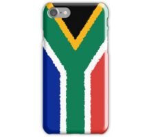 Smartphone Case - Flag of South Africa - Vertical Painted iPhone Case/Skin