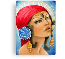 The Fortune Teller From Seville Canvas Print