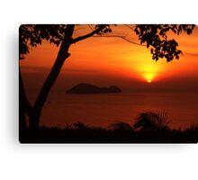 Koh Phangan Sunset Canvas Print