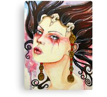 The Shaman's Daughter Canvas Print