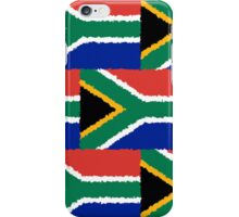 Smartphone Case - Flag of South Africa - Patchwork Painted iPhone Case/Skin