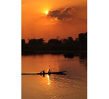 Laos Sunset Photographic Print