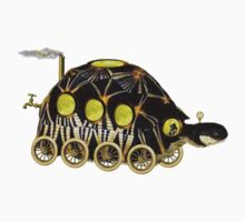 Steampunk Tortoise by Tickleart