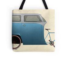 Camper Bike Tote Bag