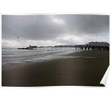 Sandown pier, Isle of Wight Poster