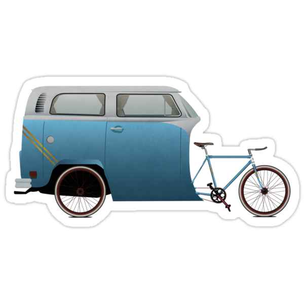 Camper Bike by Andy Scullion