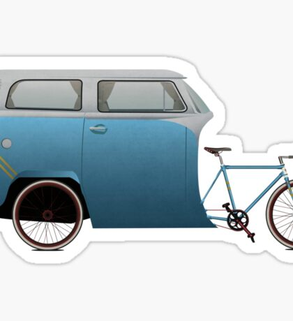 Camper Bike Sticker