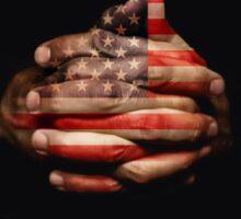 Pray for USA - Peace Sticker