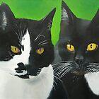 Olly and Felix by Koekelijn