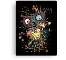 Shocked Zombie Canvas Print