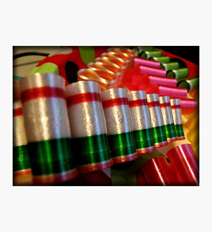 Ribbon Candy Photographic Print