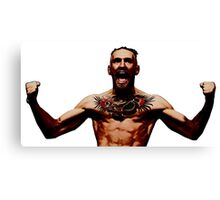 Conor McGregor IRISH UFC LEGEND Canvas Print
