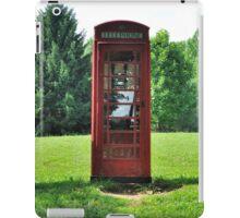 1935 Telephone Kiosk - King George V - II iPad Case/Skin