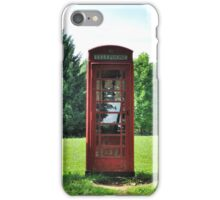1935 Telephone Kiosk - King George V - II iPhone Case/Skin