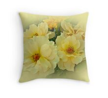 Softly and Sweetly Throw Pillow