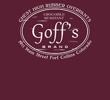 Goff's Brand Chest High Rubber Overpants Unisex T-Shirt