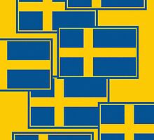 Smartphone Case - Flag of Sweden - Horizontal by Mark Podger