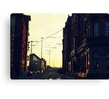 Gritty city.  Canvas Print