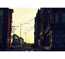 Gritty city.  Photographic Print