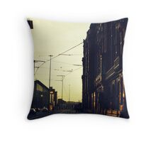Gritty city.  Throw Pillow