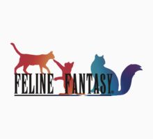 Feline Fantasy - Final Fantasy  One Piece - Short Sleeve