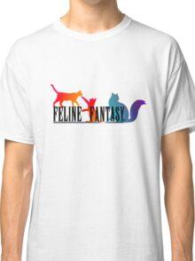 Feline Fantasy - Final Fantasy  Classic T-Shirt