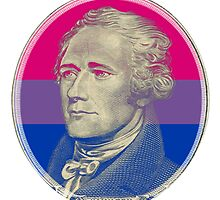 Celebrated Bisexual Alexander Hamilton by nekouyoku
