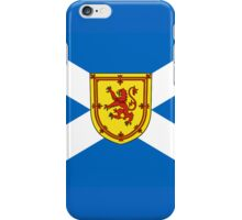 Smartphone Case - Flag of Scotland (unofficial) - Horizontal iPhone Case/Skin