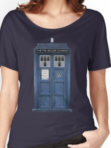 They're Bigger on the Inside! Women's Relaxed Fit T-Shirt