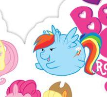 MLP Bean Ponies Sticker