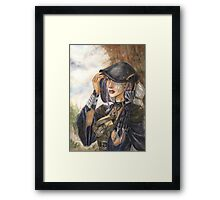 Dark Elf rogue Framed Print